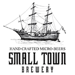 pabst small town brewery logo